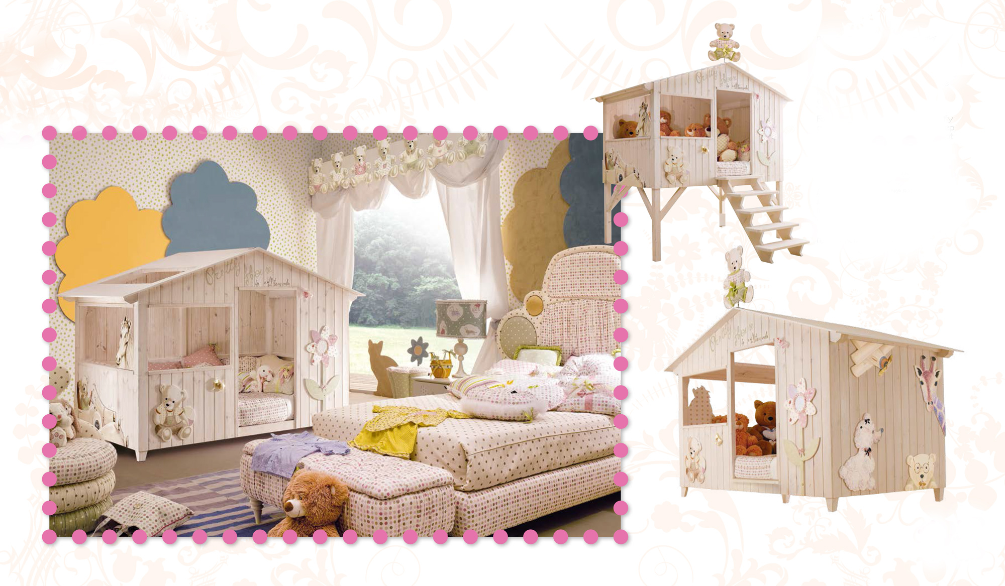 Le Lit Cabane Enfant Le Rêve De Tous Les Petits Aventuriers - Lit cabane fille