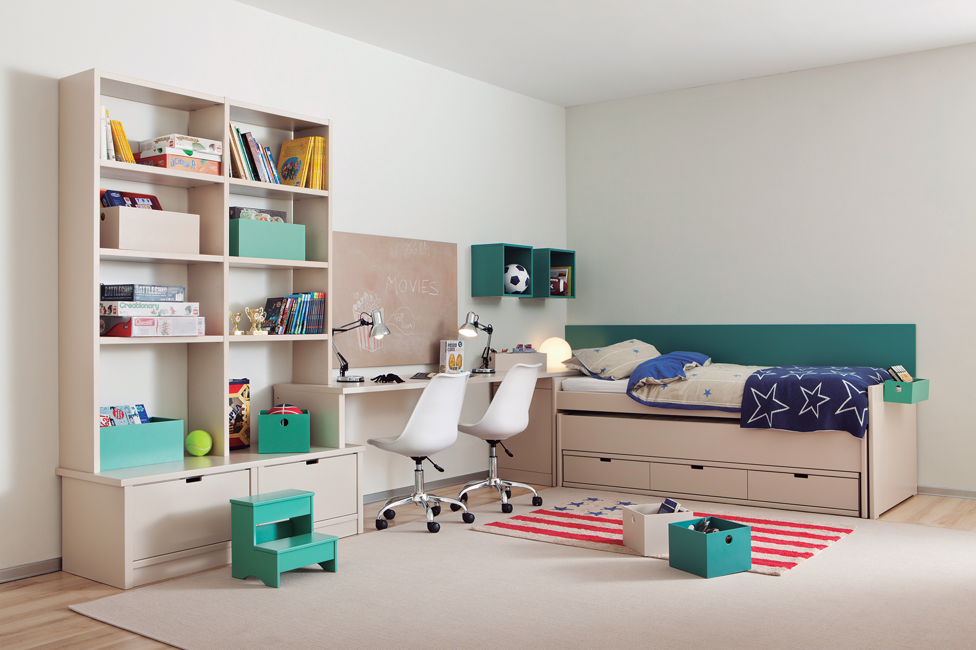 Rangement chambre enfant facile & pratique: Tous les conseils