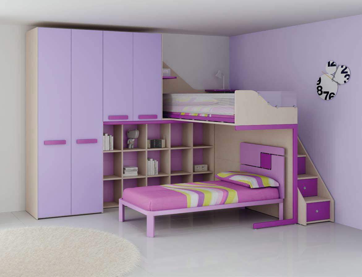 Avez vous pensez au lit mezzanine 1 place pour votre enfant?