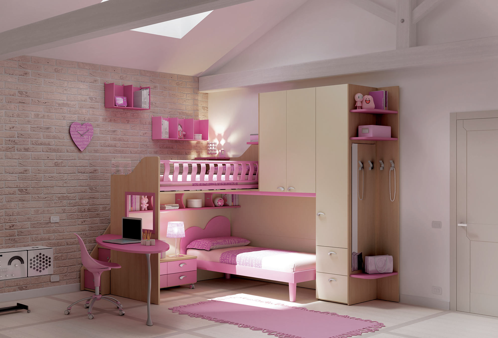 Avez Vous Pensez Au Lit Mezzanine 1 Place Pour Votre Enfant