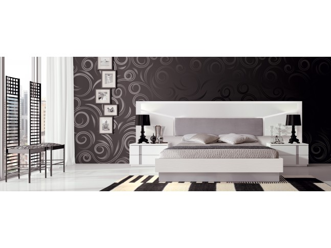 Lit adulte design PERSONNALISABLE EOS113 - GLICERIO