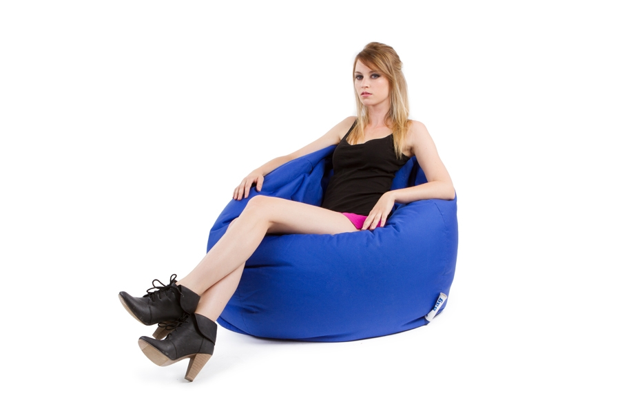 Super Pouf poire geant Scuba XXL design et coloré - JUMBO BAG - SO NUIT ZP61