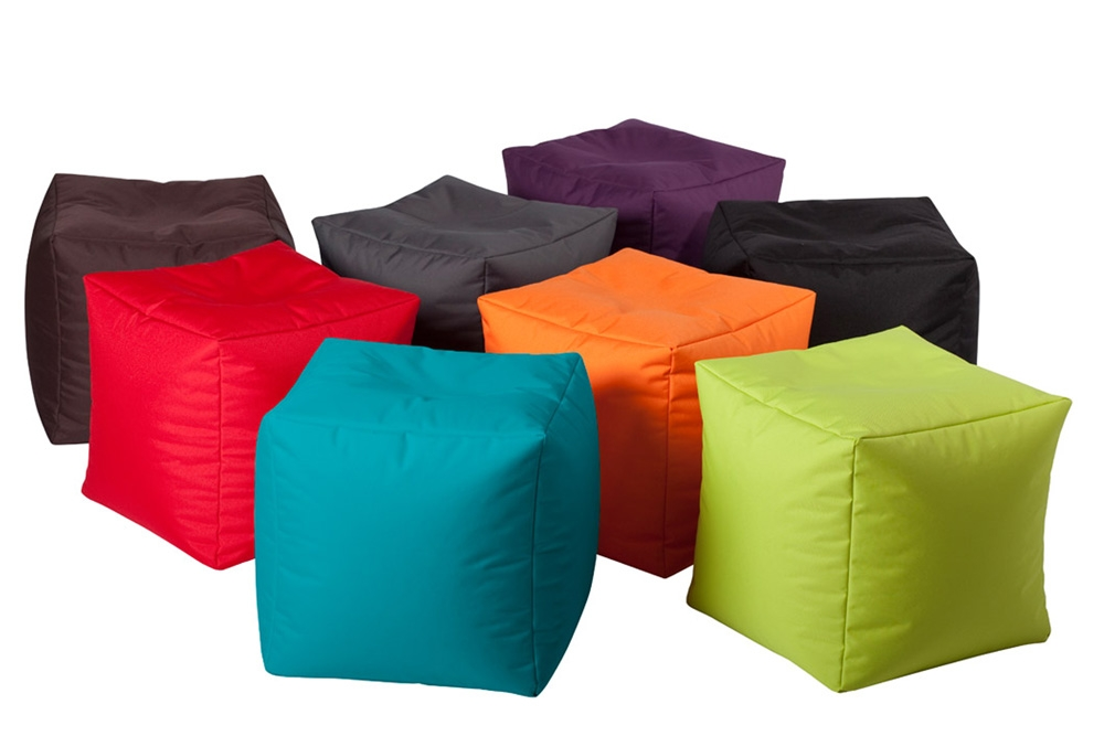 pouf geant cube color moderne et d coratif jumbo bag so nuit. Black Bedroom Furniture Sets. Home Design Ideas