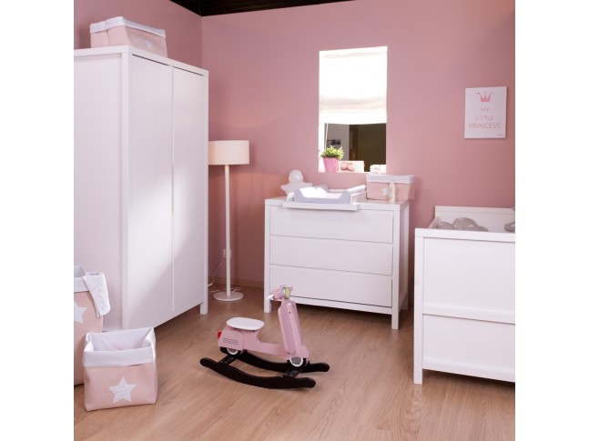 Armoire 2 portes Spring blanc - CHILDWOOD