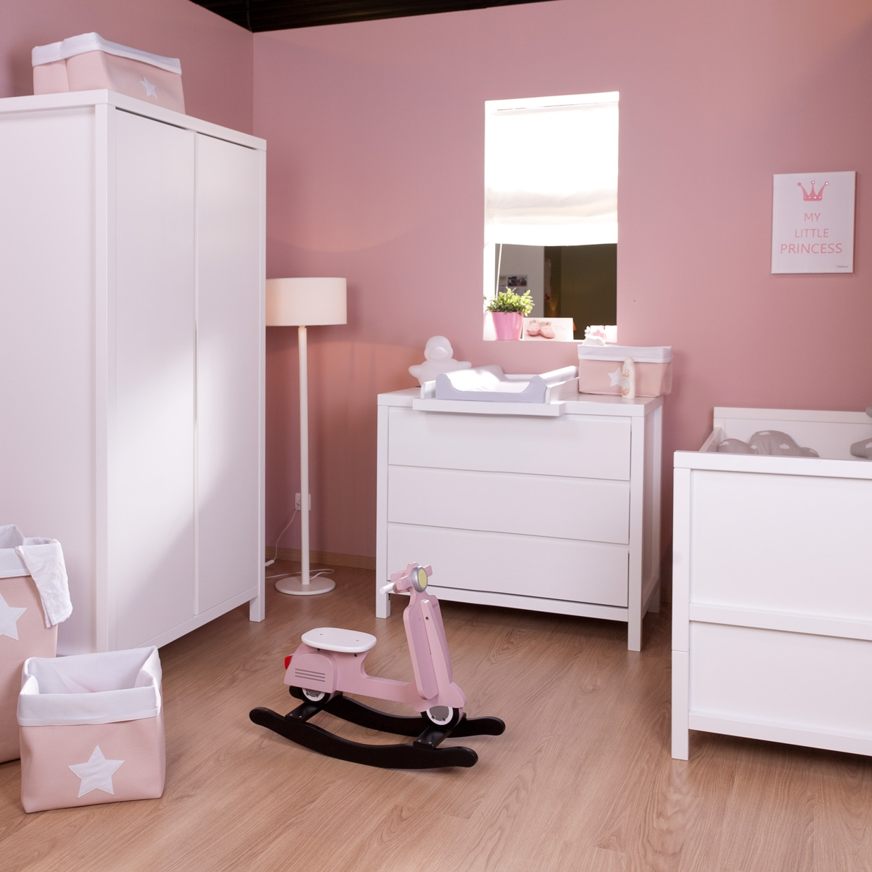 Armoire 2 portes Spring blanc - CHILDWOOD