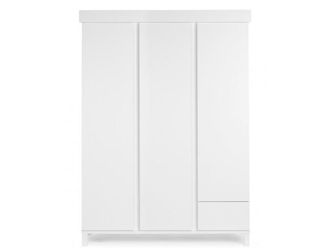 Armoire 2 portes 1 tiroir Home blanc - CHILDWOOD