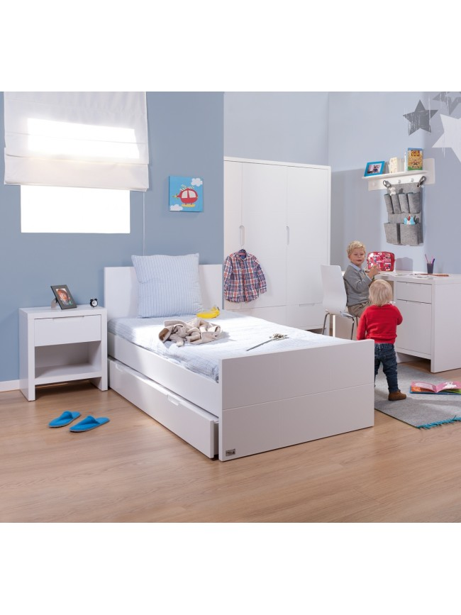 bureau enfant avec meuble de rangement et niche d co asoral so nuit. Black Bedroom Furniture Sets. Home Design Ideas