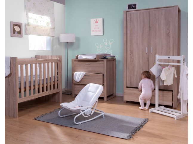Armoire 2 portes 1 tiroir Oracle chêne - CHILDWOOD