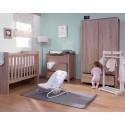 Armoire enfant 3 portes 2 tiroirs Oracle chêne - CHILDWOOD