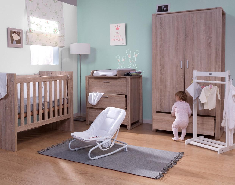 Commode et table à langer Oracle chêne - CHILDWOOD