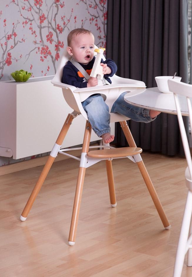 Chaise haute enfant EVOLU2, next-génération 2015 primée - CHILDWOOD