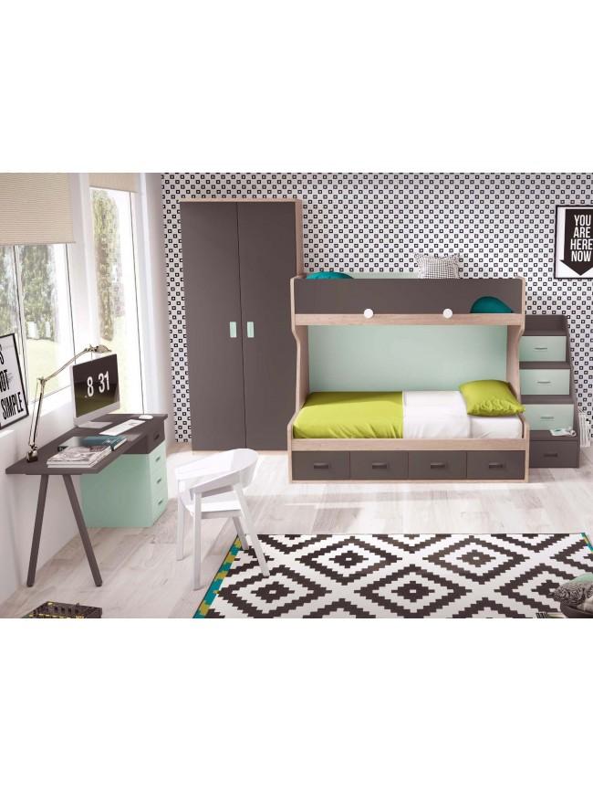 Lit superpos lit jumeaux collection prix c lin so nuit - Alfombras para dormitorios juveniles ...