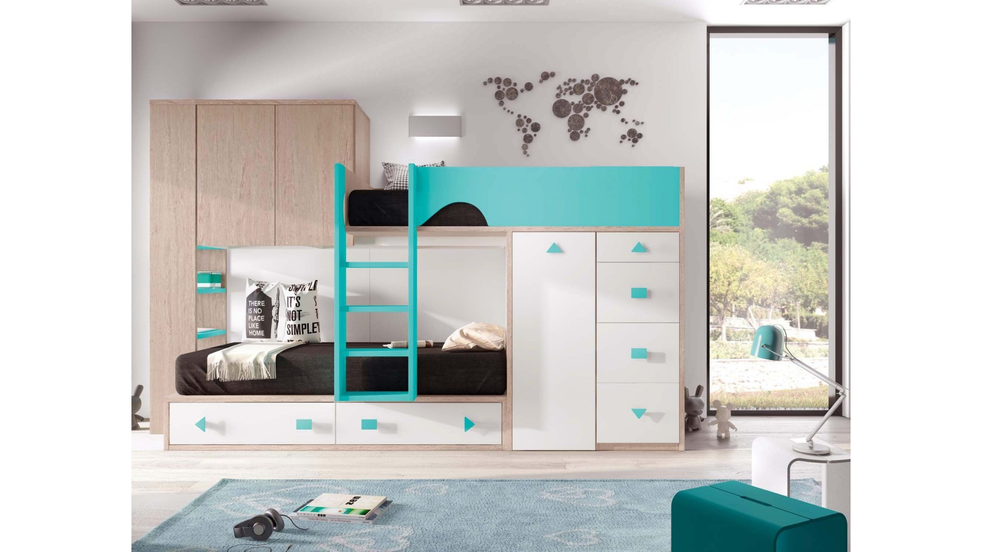 lit superpos gar on ultra compact et pratique glicerio so nuit. Black Bedroom Furniture Sets. Home Design Ideas