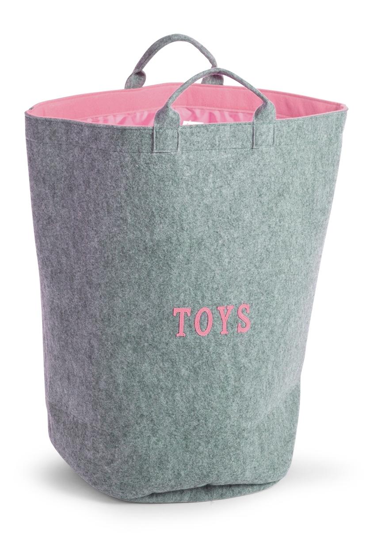 sac jouet en feutre avec int rieur en couleur childwood so nuit. Black Bedroom Furniture Sets. Home Design Ideas