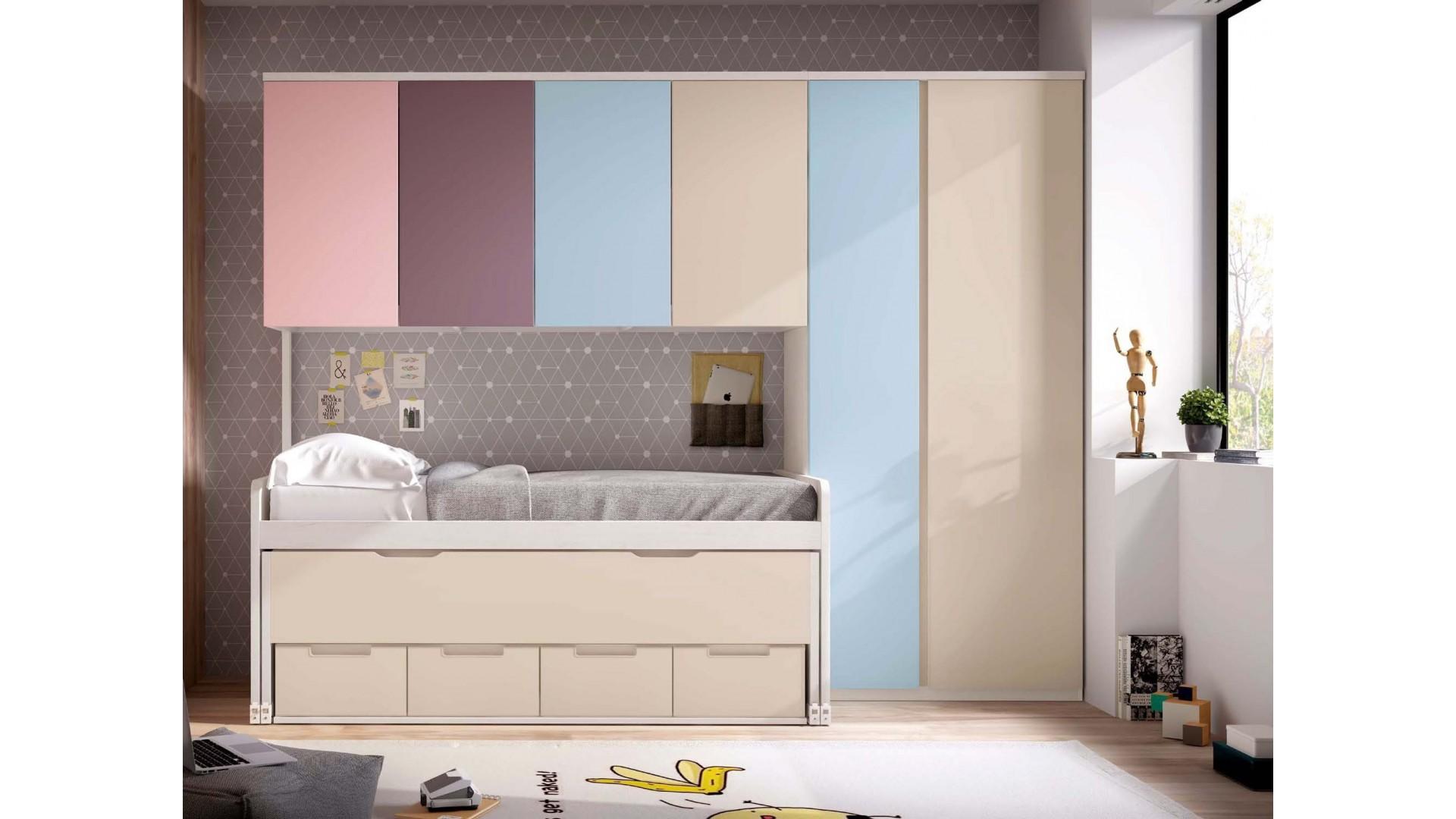 Chambre enfant design PERSONNALISABLE F019 - GLICERIO