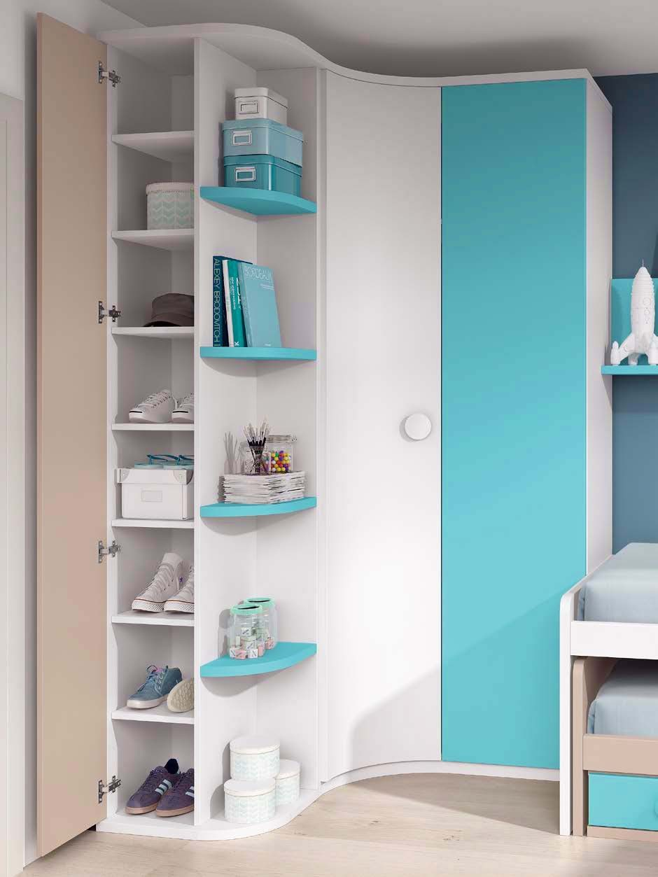 lit enfant gigogne avec rangements glicerio so nuit. Black Bedroom Furniture Sets. Home Design Ideas