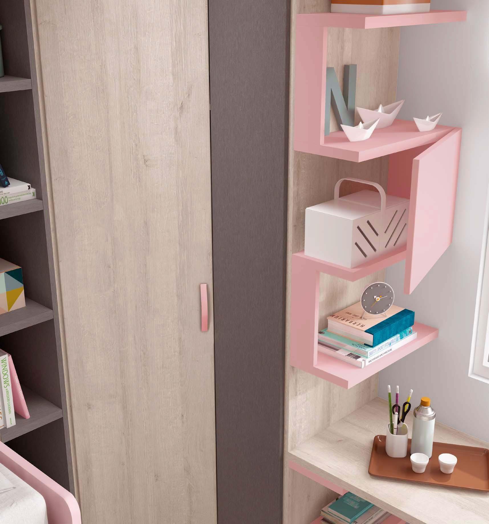 Chambre Fille Lit Gigogne : Chambre fille avec lit gigogne compacte glicerio so nuit