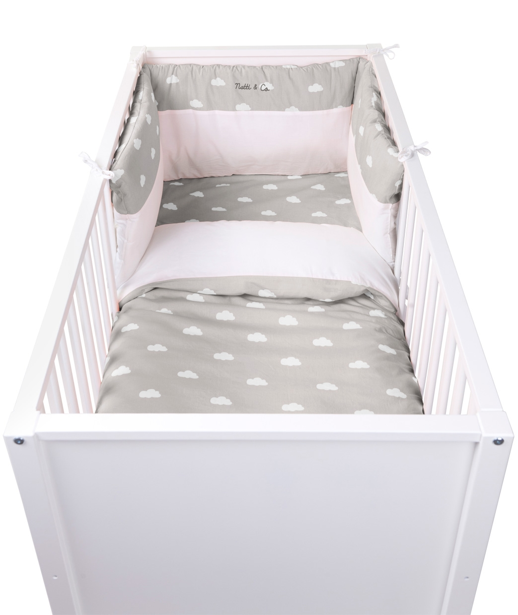 Tour de lit Snoozy nuages Natti & Co - CHILDWOOD