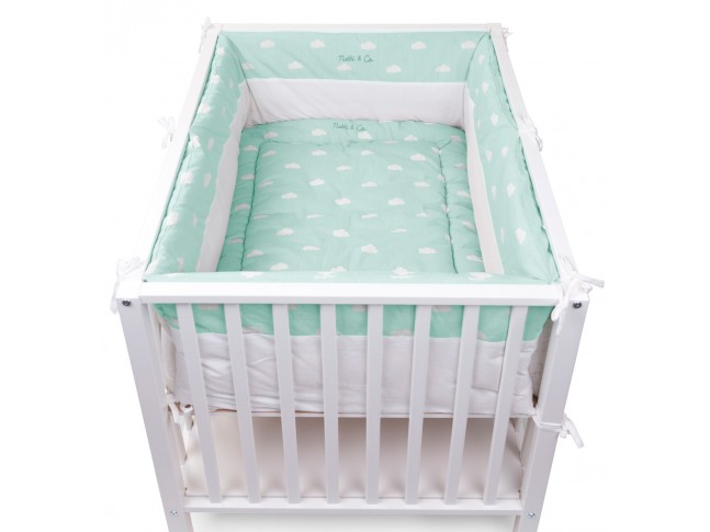 Tour de parc Snoozy nuages Natti & Co - CHILDWOOD