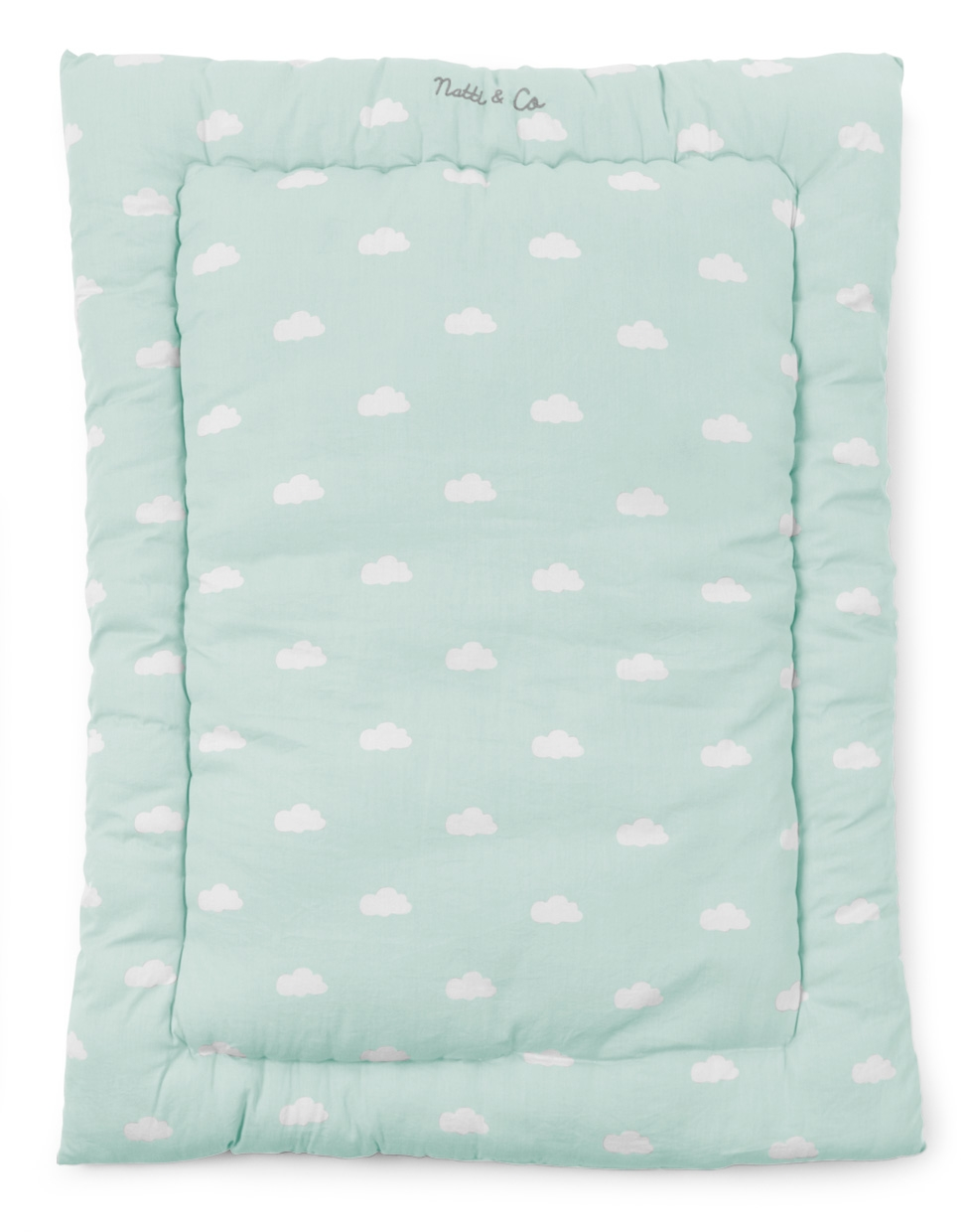 tapis de parc snoozy nuages natti co de 75x95 childwood so nuit