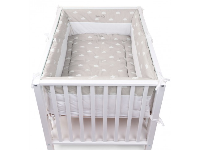 Tapis de parc Snoozy nuages Natti & Co - CHILDWOOD