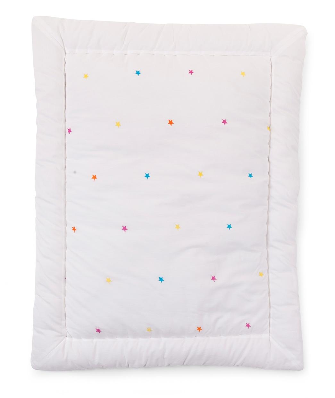 Tapis de parc 75x95 cm coton Stars brodé Natti & Co- CHILDWOOD