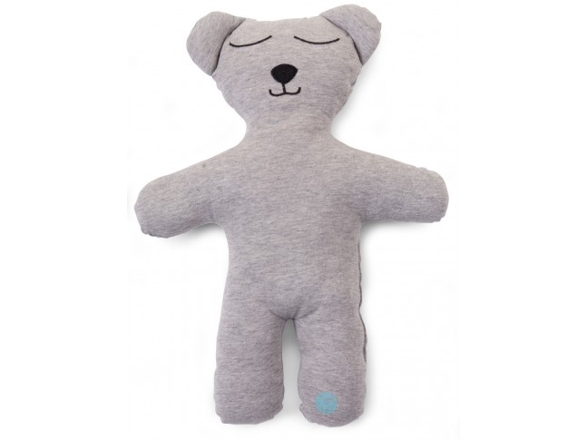 Doudou Jersey gris Teddy bear Natti & Co - CHILDWOOD