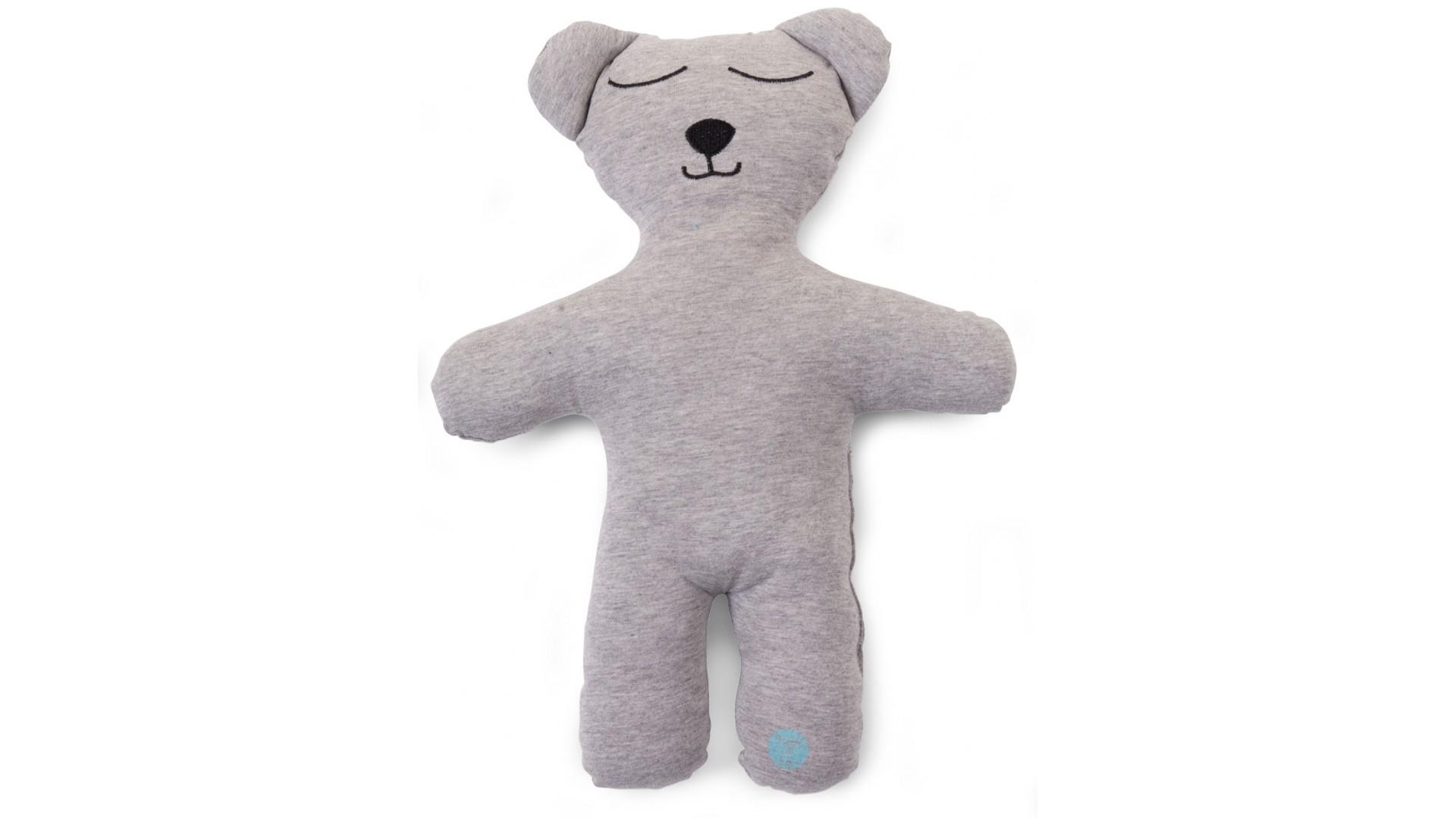 Doudou Jersey gris Teddy bear Natti & Co - CHILDWOOD