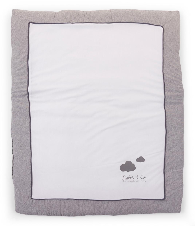 Tapis de parc 80x100 cm Jersey Natti & Co - CHILDWOOD