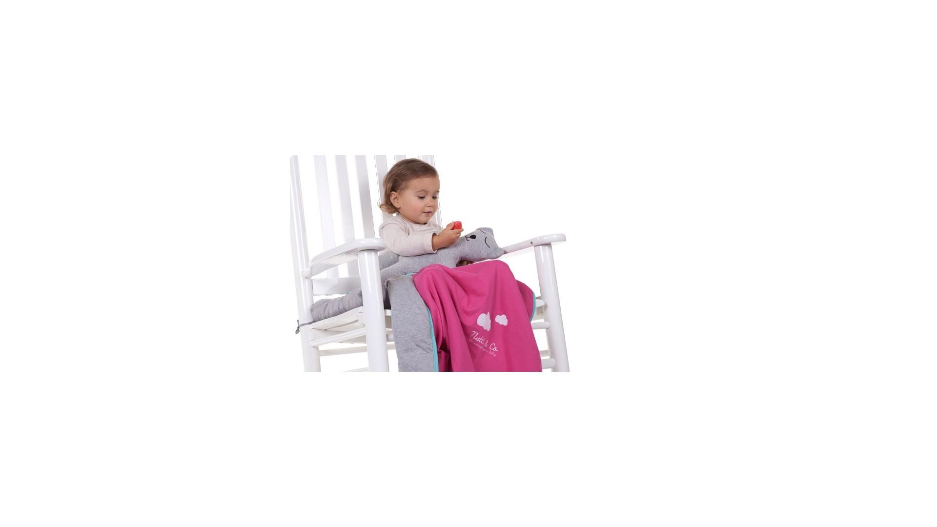 Couverture en Jersey 100x80 Natti & Co - CHILDWOOD
