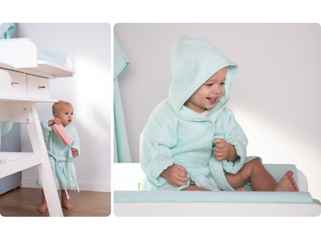 Peignoir de bain bébé collection Terry 50x35 Natti & Co - CHILDWOOD