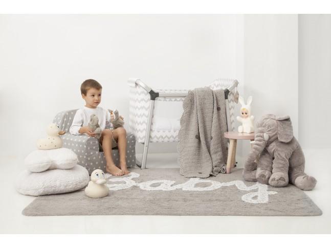 Tapis enfant BABY 120 x 160 cm en coton lavable - LORENA CANALS