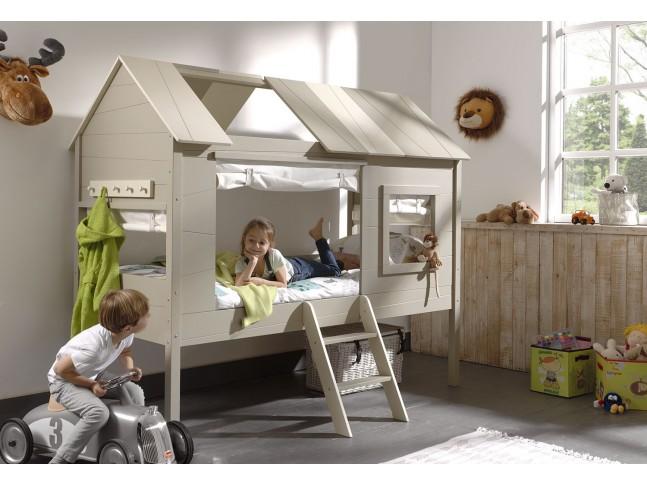 Lit maison enfant EQUATEUR 90x200 cm- SONUIT