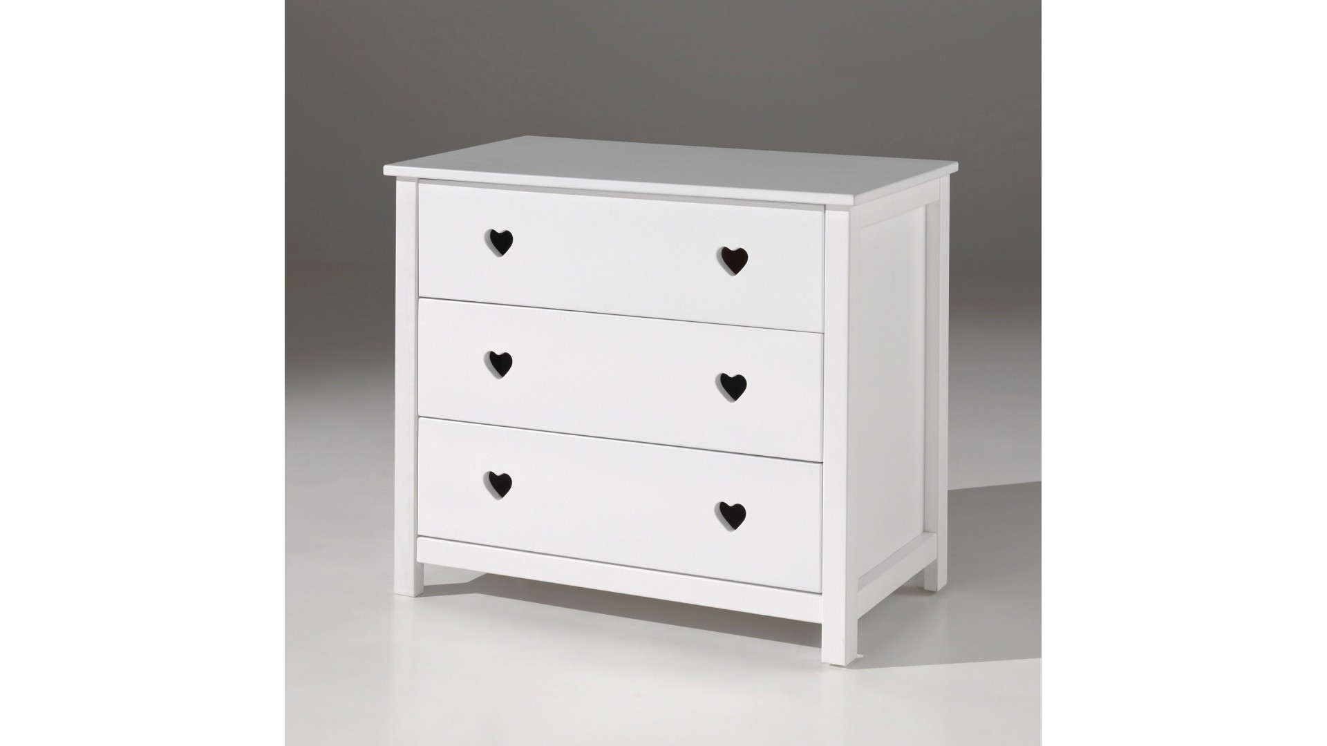 Commode chambre fillette EMILIE 3 tiroirs - SONUIT