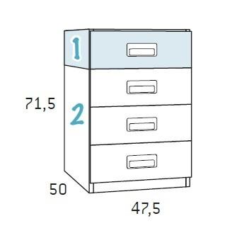 lit 1 place avec rangement et un bureau glicerio so nuit. Black Bedroom Furniture Sets. Home Design Ideas