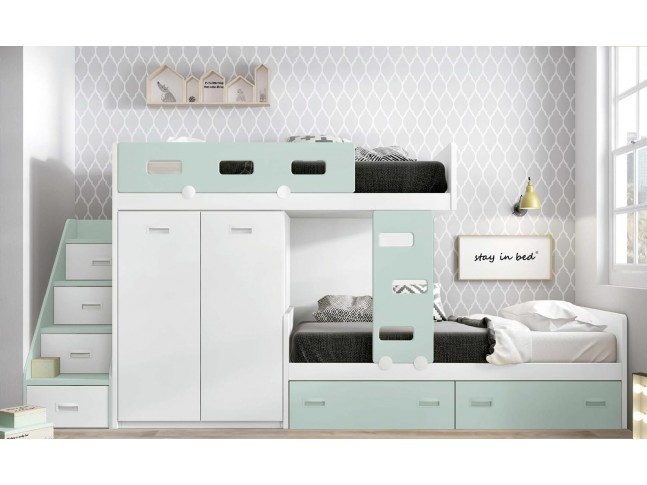 lit superpos enfant pour une chambre enfant fun glicerio so nuit. Black Bedroom Furniture Sets. Home Design Ideas