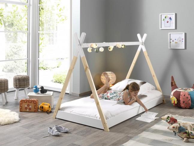 Lit cabane enfant TIPI 90x200 cm- SONUIT