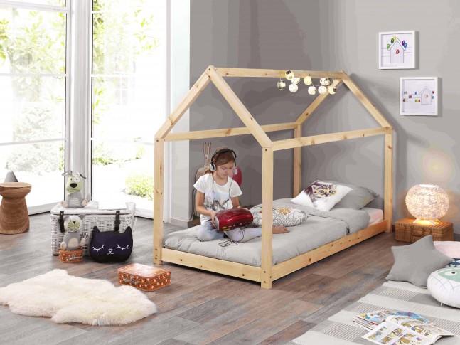 Lit cabane enfant ELEA 90x200 cm - SONUIT