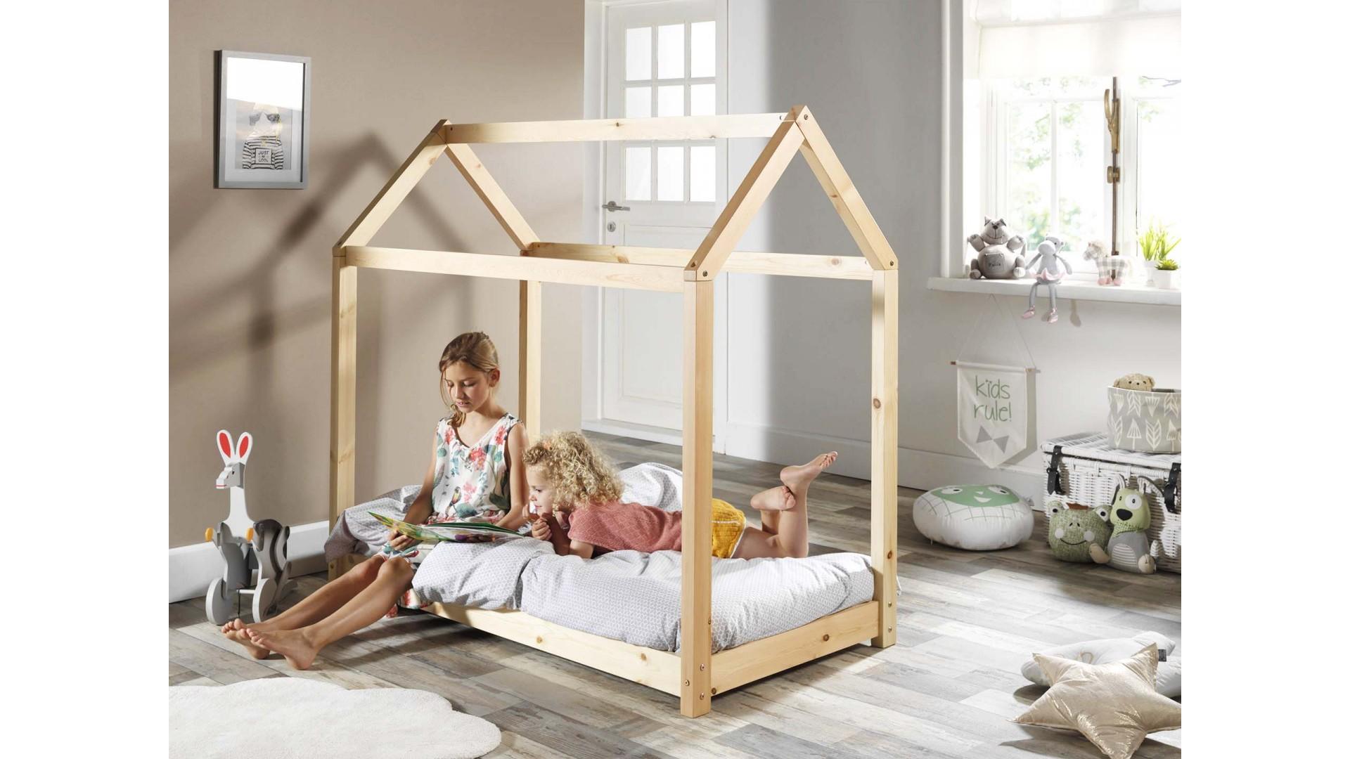 Lit cabane enfant ELEA 70x140 cm - SONUIT