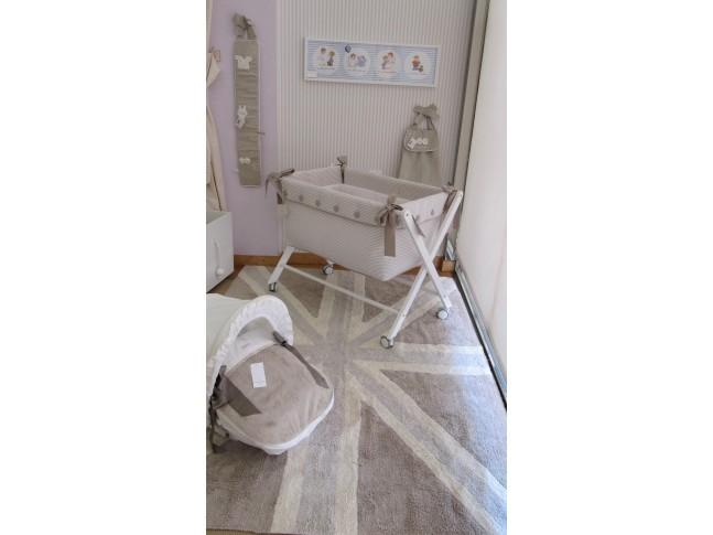 Tapis enfant DRAPEAU ANGAIS 140x200cm en coton lavable - LORENA CANALS