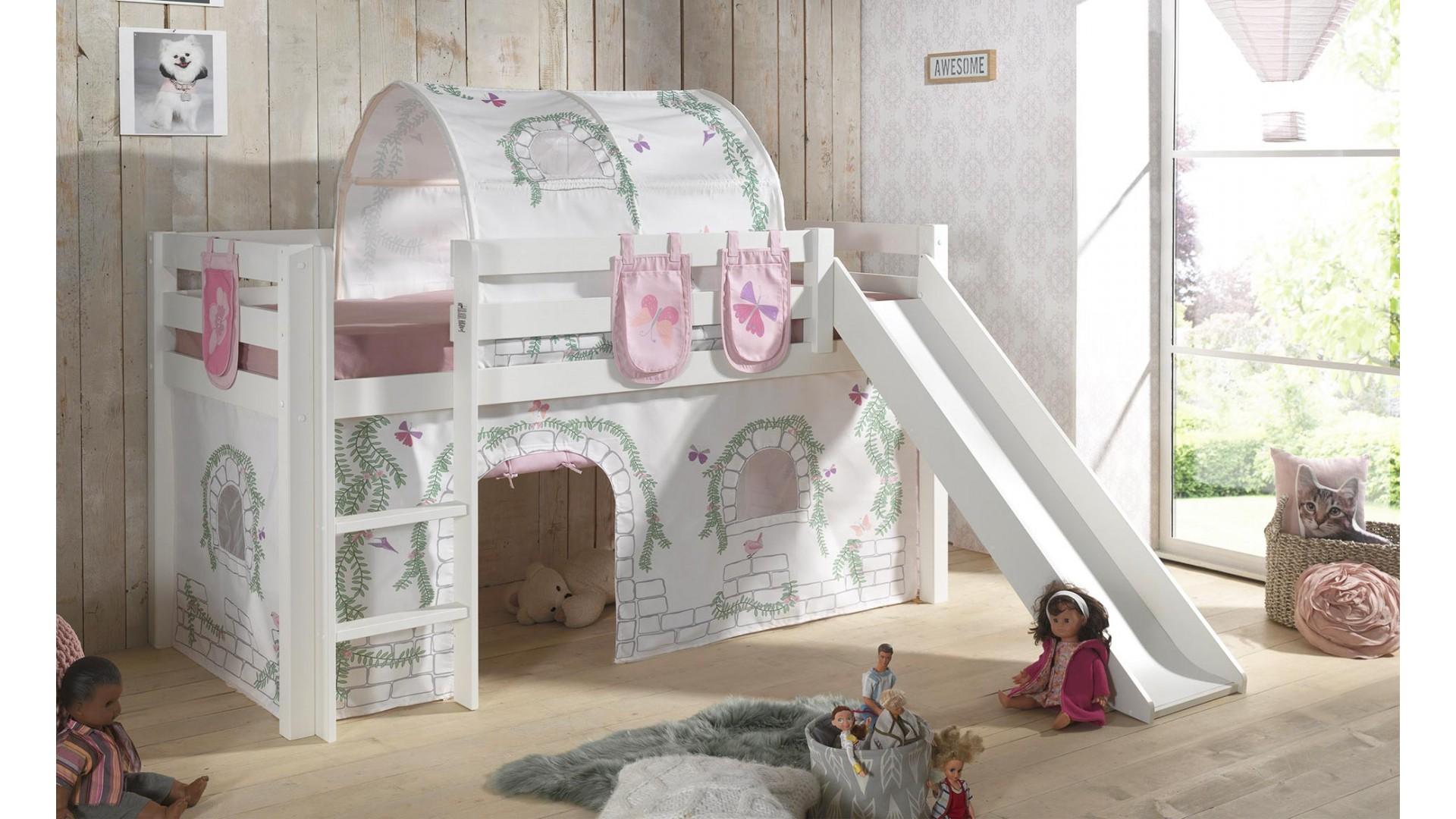 Tissus cabane décor birdy pour lit mi-haut - SONUIT