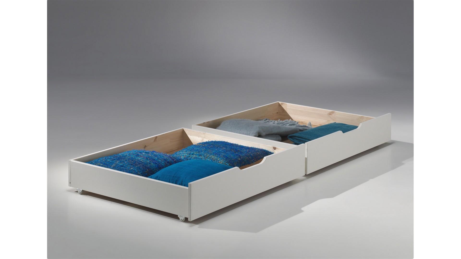Lot 2 tiroirs à glisser sous le lit - SONUIT