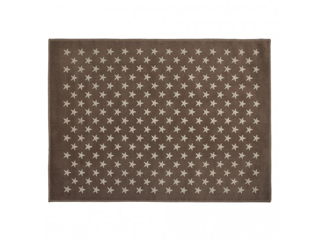 Tapis enfant CONSTELLATION TAUPE en acrylique 3 formats - LORENA CANALS
