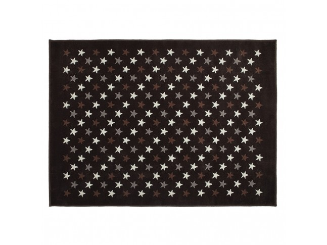 Tapis enfant CONSTELLATION MULTI-BROWN en acrylique 3 formats - LORENA CANALS