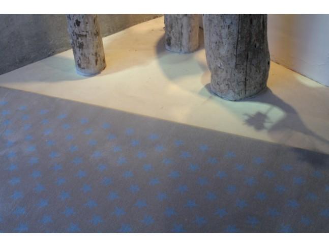Tapis enfant CONSTELLATION GRIS-BLEU en acrylique 3 formats - LORENA CANALS
