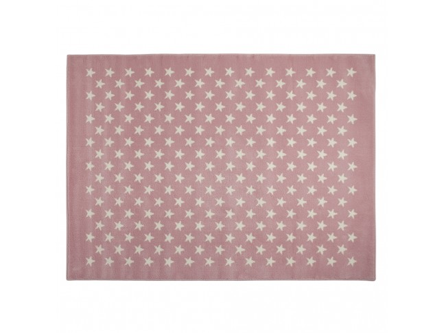 Tapis enfant CONSTELLATION ROSE en acrylique 3 formats - LORENA CANALS