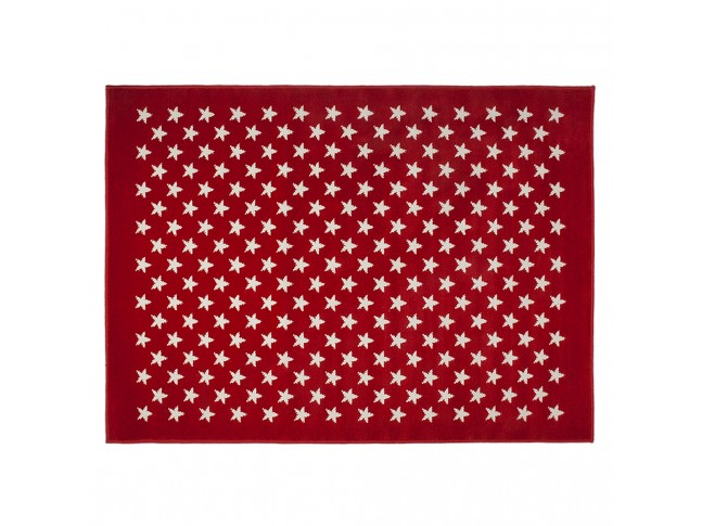 Tapis enfant CONSTELLATION ROUGE en acrylique 3 formats - LORENA CANALS