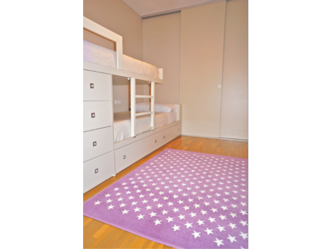 Tapis enfant CONSTELLATION LILA en acrylique 3 formats - LORENA CANALS