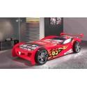 Lit voiture Bolide rouge avec couchage 90 x 200 cm - SONUIT