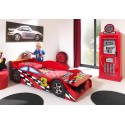 Lit voiture rouge junior Eclipse couchage 70 x 140 cm - SONUIT